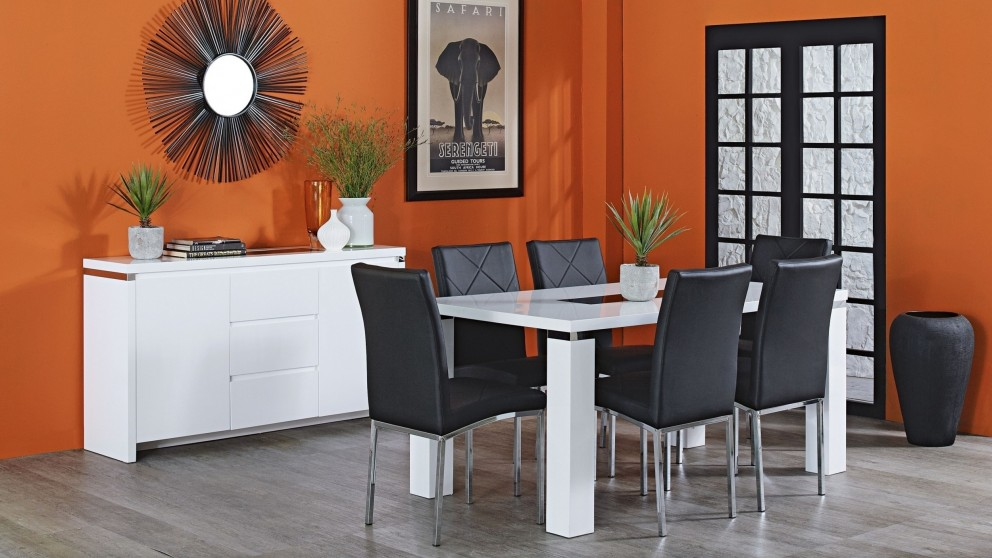 northern 7 piece dining setting - dining furniture - dining room