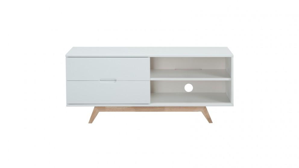 Tauris Nova 1200mm TV Cabinet - White