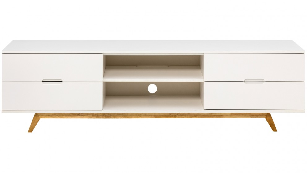 Gentil Tauris Nova 1800mm TV Cabinet   White