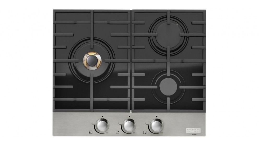 Neil Perry Kitchen by Omega 600mm Gas on Glass Cooktop