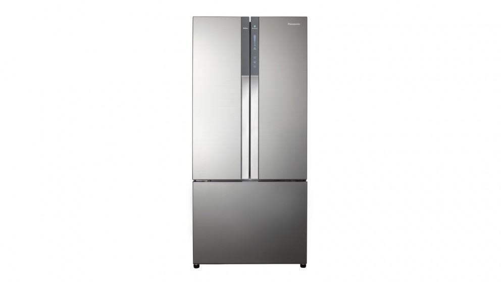 Panasonic 547L PrimeFresh French Door Fridge - Silver Glass