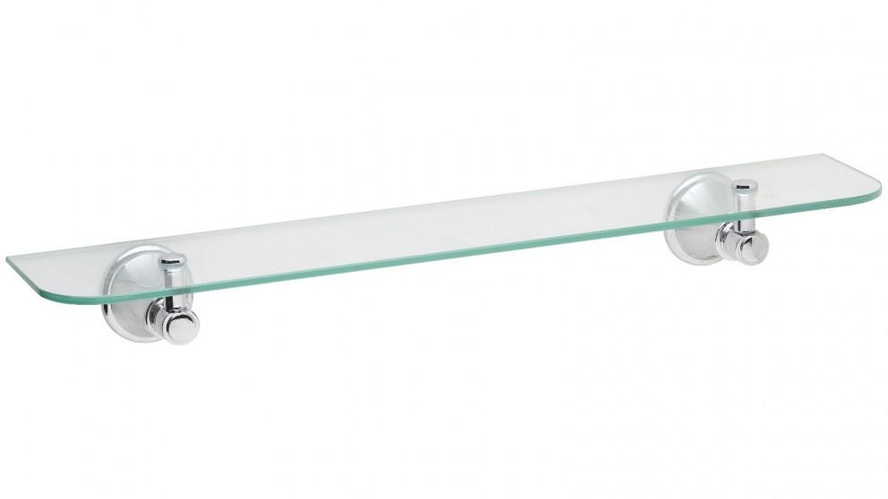 Phoenix Nostalgia Glass Shelf - Chrome