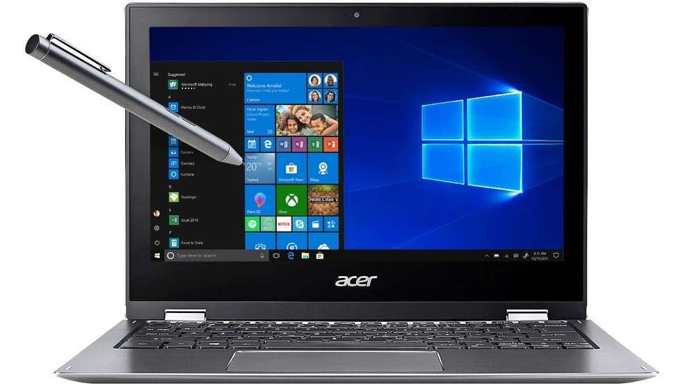 Acer Spin 1 SP111-32N-P7E4 11.6-inch 2-in-1 Modern PC Laptop