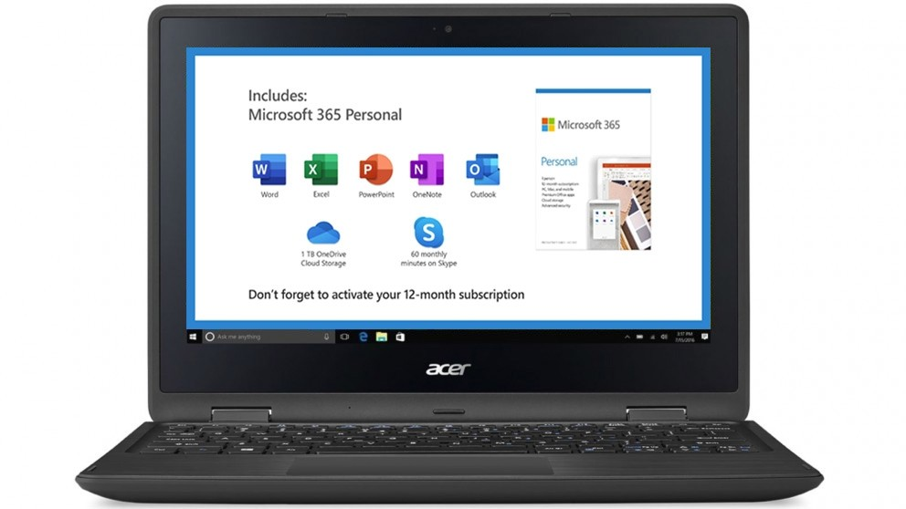 Acer Spin 1 11.6-inch Celeron N4020/4GB/64GB eMMC 2 in 1 Device