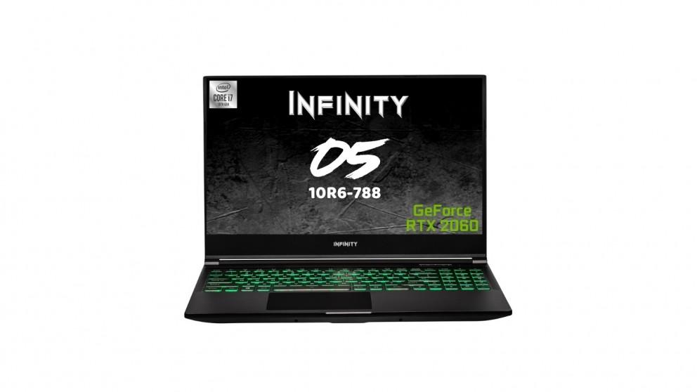Infinity O5-10R6-788 I7-10750H/16GB/512GBSSD/6GB RTX2060/144HZ 15.6-inch