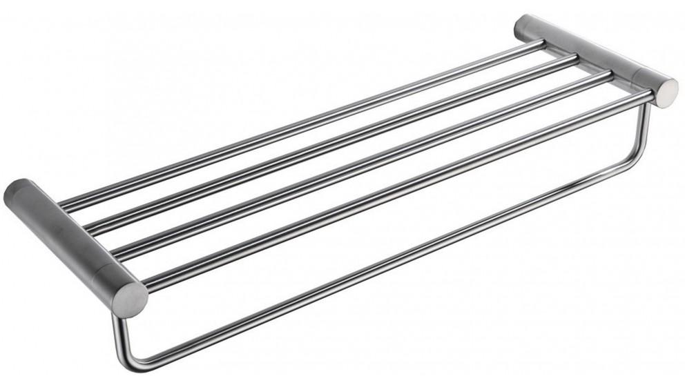 PLD Oasis Towel Shelf - Satin Nickel