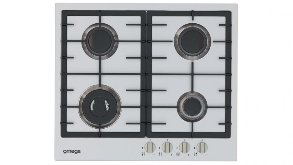 Omega 60cm 4 Burner Gas Cooktop