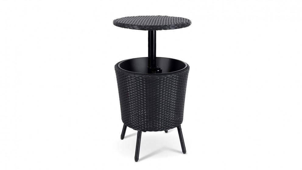 Bar Table Setting Cooler Ice Bucket - Black