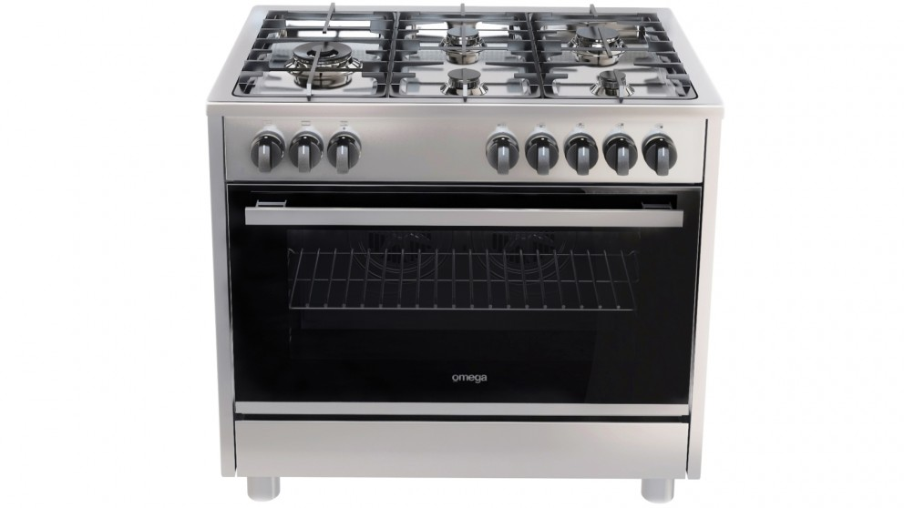 Omega 900mm 5 Burner Freestanding Cooker