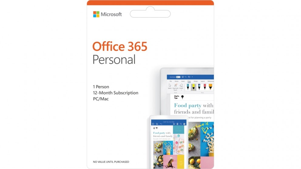 Buy Microsoft Office 365 Personal 1 Year Subscription