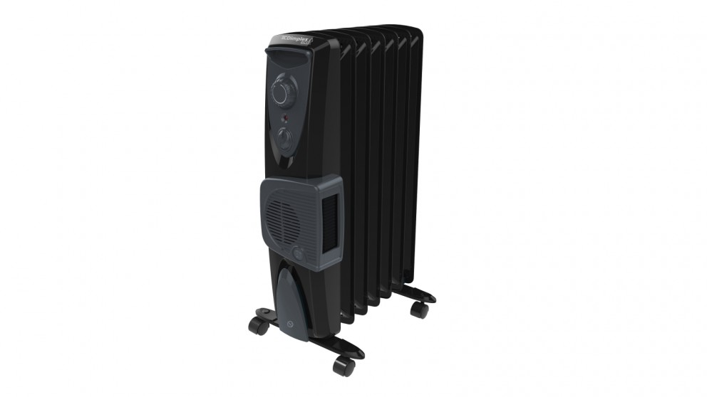 Dimplex 1.5kW Eco Column Heater with Turbo Fan - Black