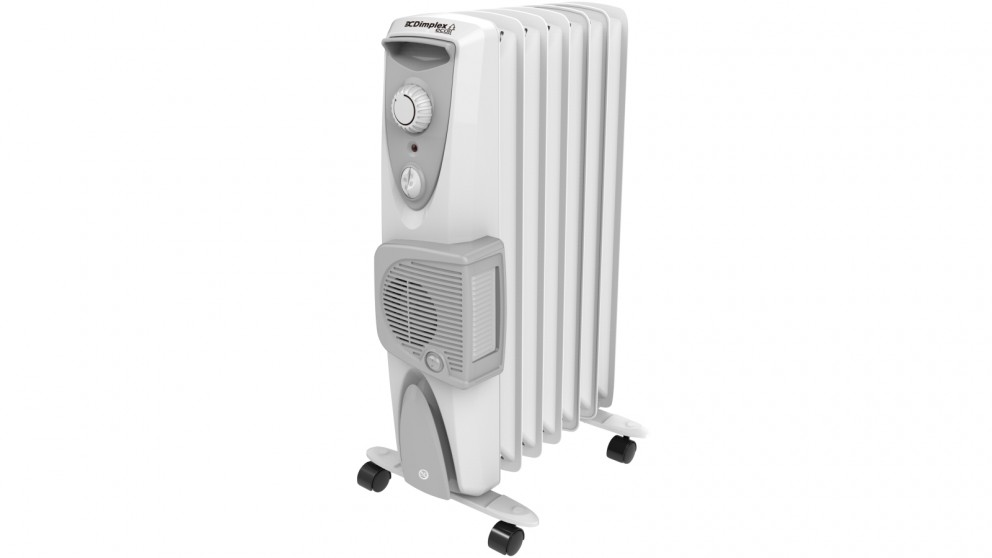 Dimplex 1.5kW Eco Column Heater with Turbo Fan - White