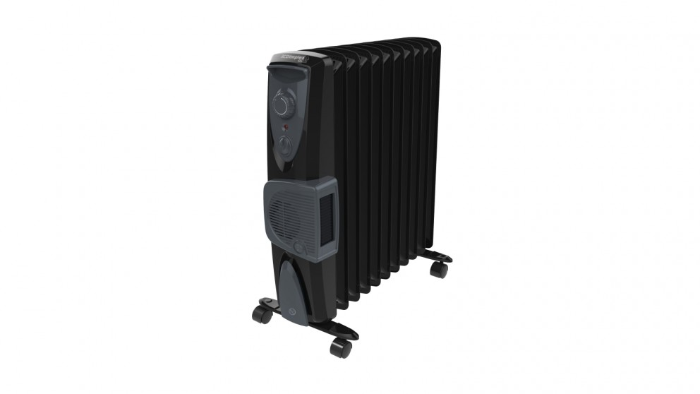 Dimplex 2.4kW Eco Column Heater with Turbo Fan - Black