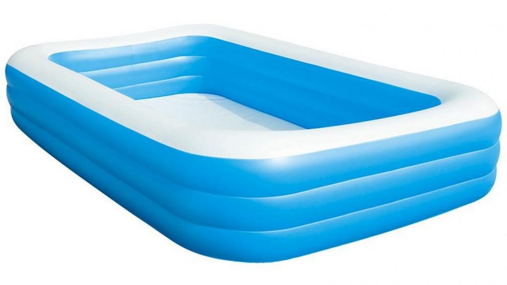 Bestway 56cm Rectangular Inflatable Kids Swimming Pool