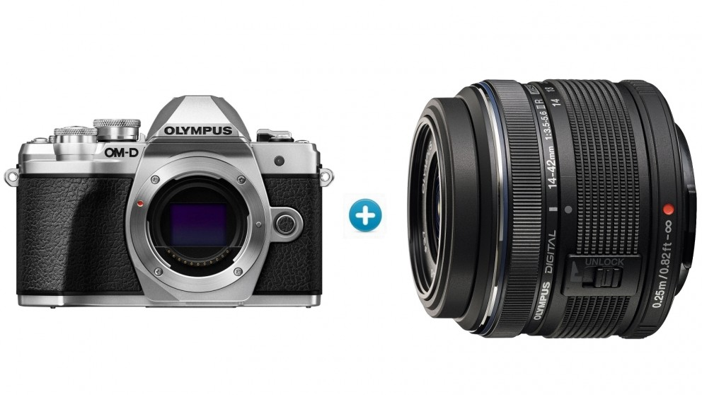 Olympus OM-D E-M10 MKIII Mirrorless Camera with 14-42mm Lens Kit