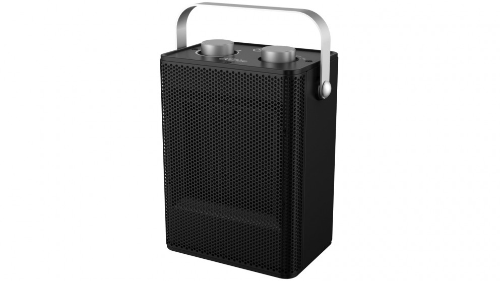 Omega Altise 1500W Portable Ceramic Heater - Black
