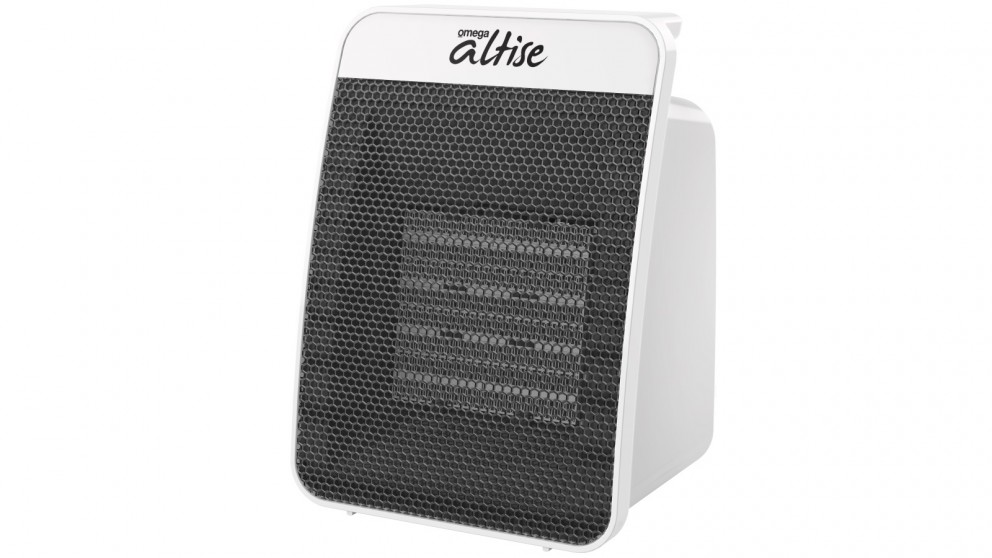 Omega Altise 1500W Ceramic Heater - White