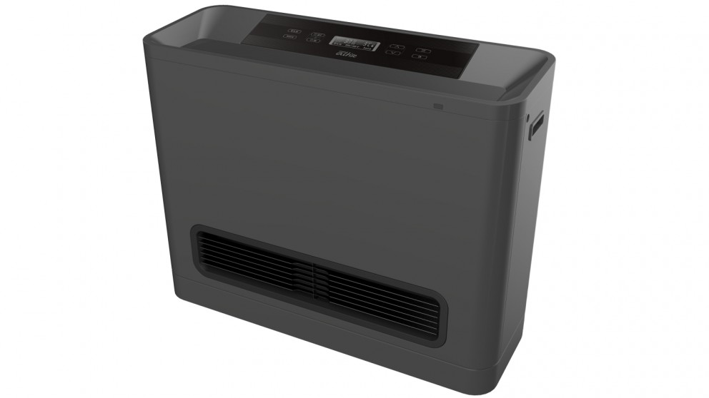 Omega Altise 25MJ Natural Gas Convection Heater - Graphite