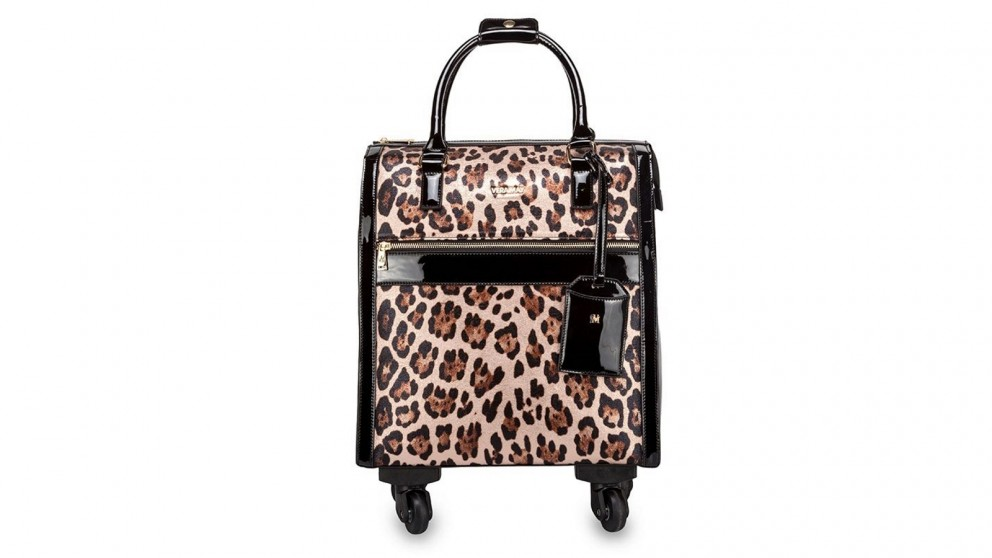 Ontario Trolley Travel Bag - Leopard
