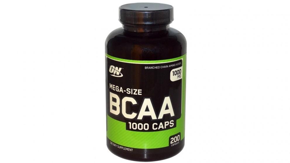 Optimum Nutrition BCAA 1000 - 200 Capsule