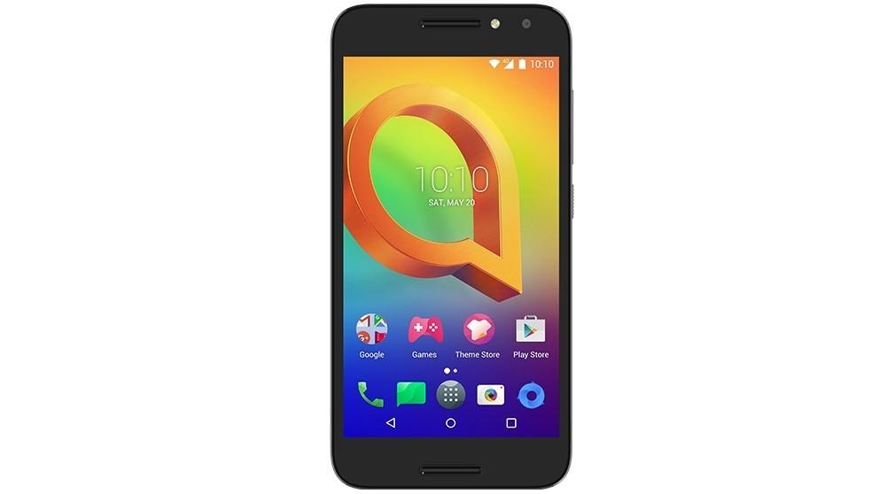 Optus Alcatel A3 Pre-Paid Smartphone - Prime Black