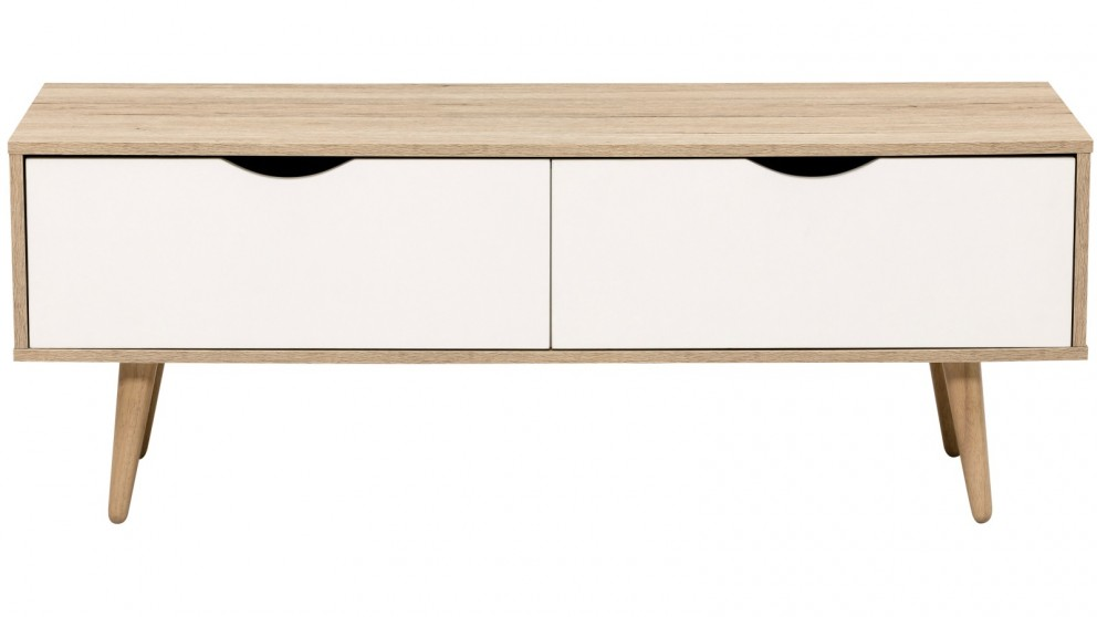 Tauris Osprey 1200mm TV Cabinet   White Oak