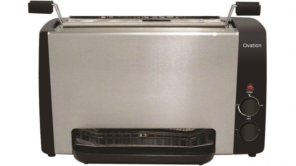 Ovation Vertical Grill - Stainless Steel
