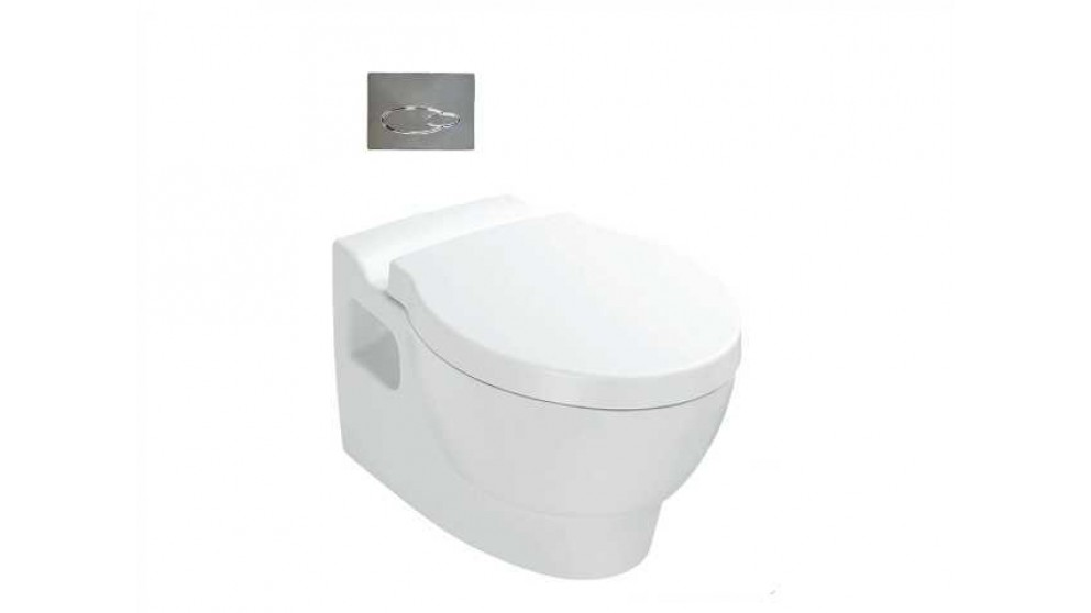 Kohler Ove Wall Hung Toilet with Oval Face Plate