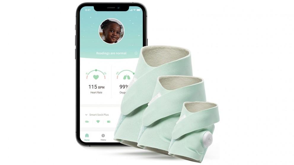 Owlet Smart Sock 3 PLUS Baby Monitor - Original Mint