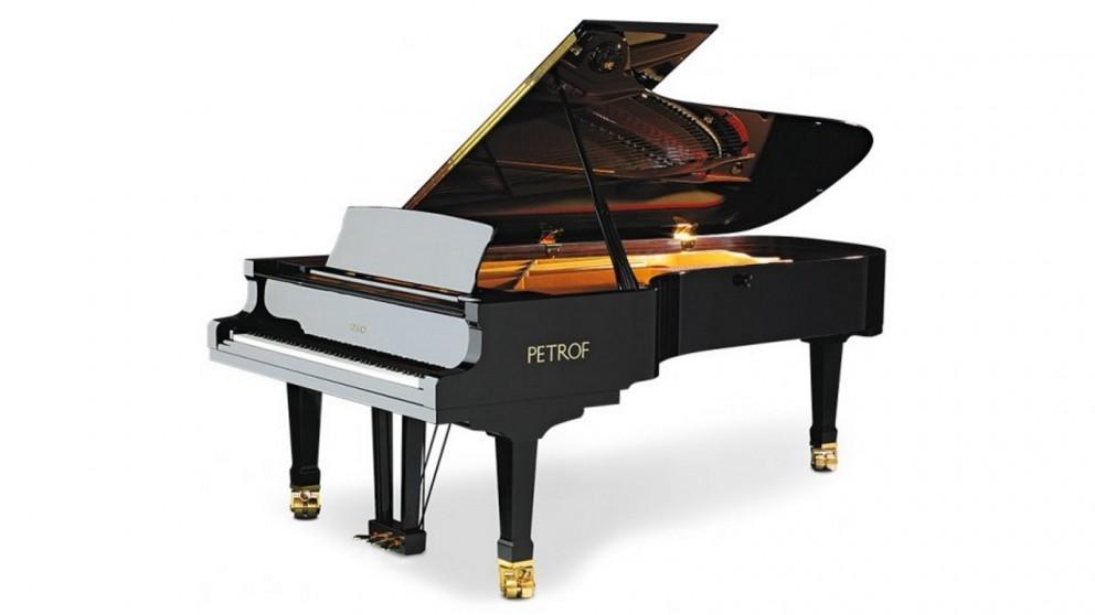 Petrof Concert Grand Piano High Polish - Black
