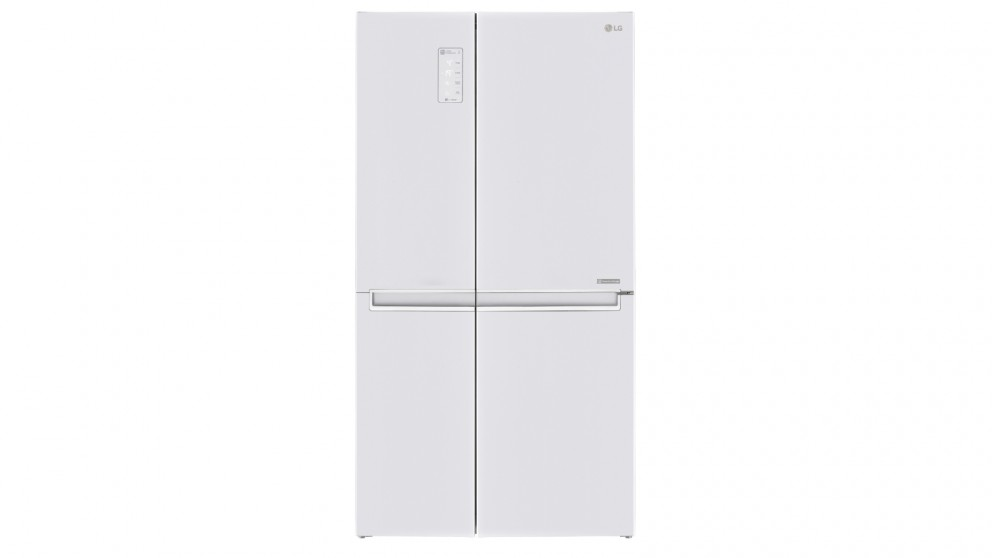 LG 642L Side by Side Fridge with Linear Compressor - White