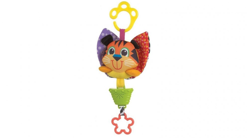 Playgro Musical Pullstring Tiger Baby Activity Toy - 0 Months+