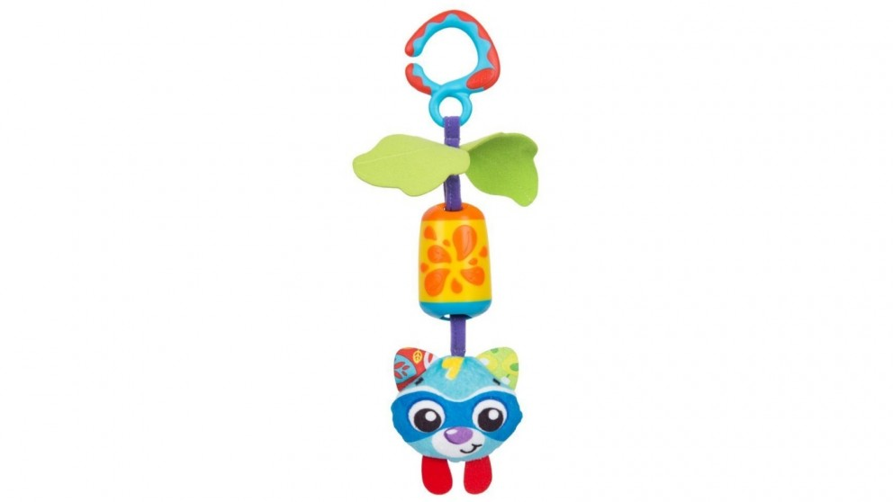 Playgro Cheeky Chime Racoon Baby Activity Toy - 0 Months+