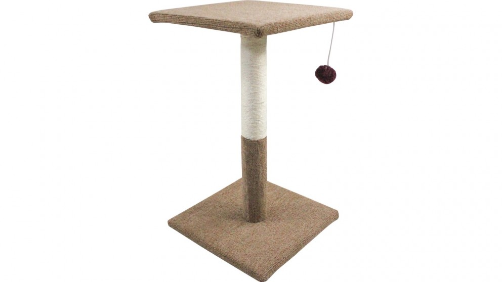 ProPet Care Cat Scratching Post with Hanging Rattle