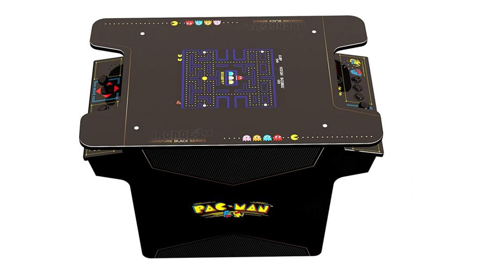 Arcade1Up Black Series Head to Head Pac-Man Arcade Cabinet