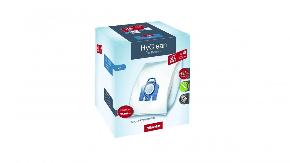 Miele GN HyClean 3D Allergy Vacuum Cleaner Dustbags XL Pack
