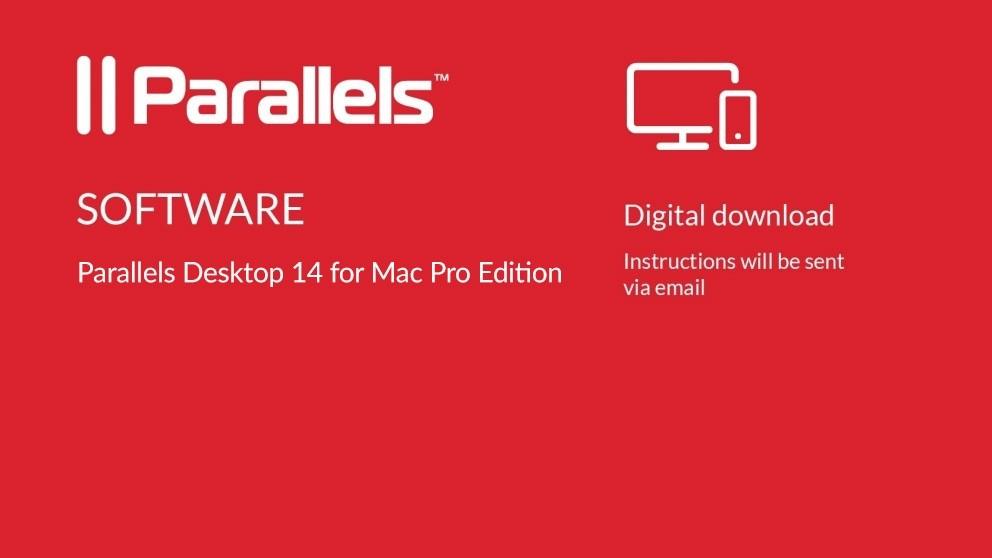 Parallels Desktop 14 for Mac Pro Edition Digital Download - 12 Months Subscription