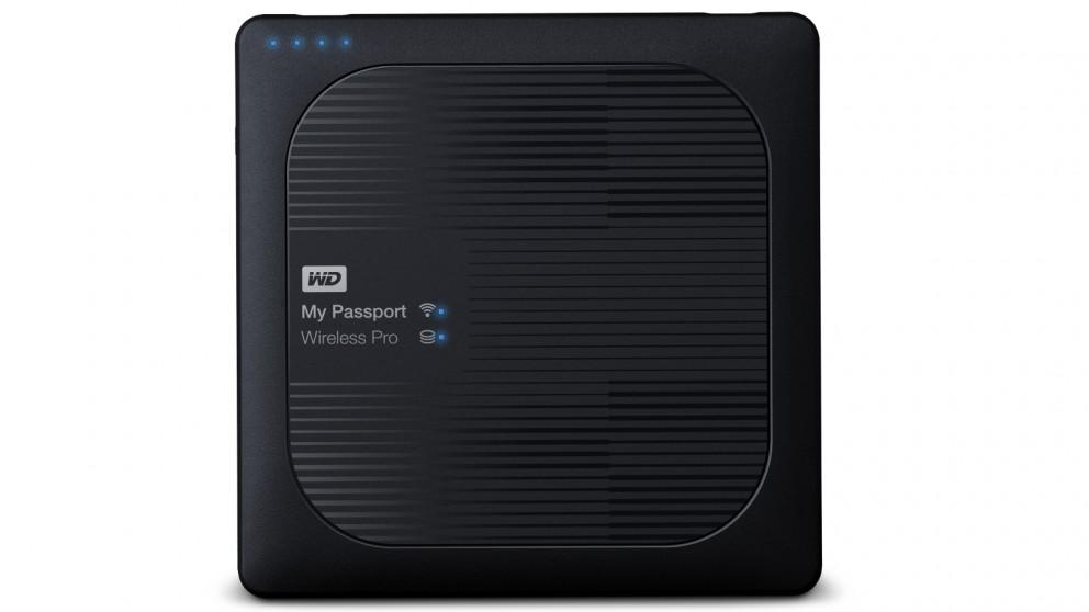 WD My Passport Wireless Pro 3TB Portable Hard Drive