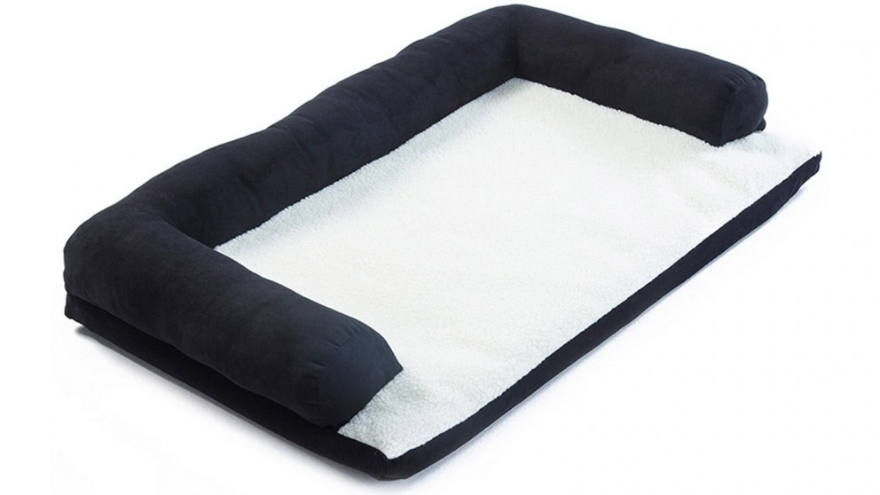 Paw Mate Pet Sofa Couch Cushion Bed Tufty - Black