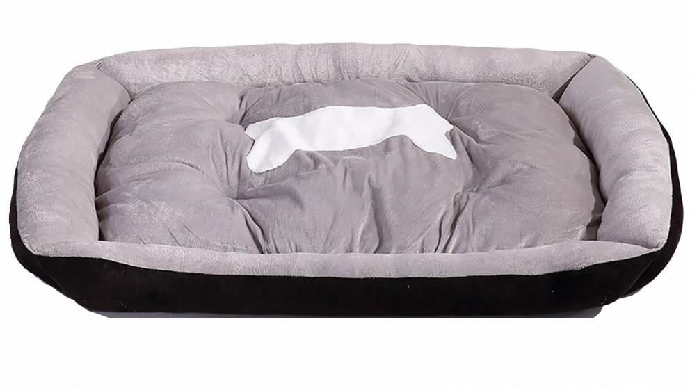 PaWz Pet Bed Mattress Mat Cushion Soft Pad Mats - Black