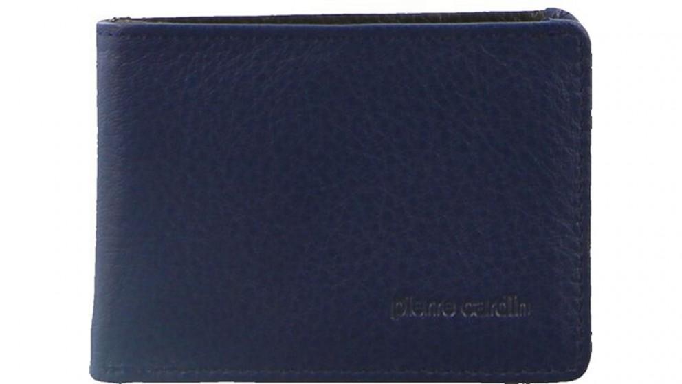 Pierre Cardin Italian Leather Mens Wallet - Navy
