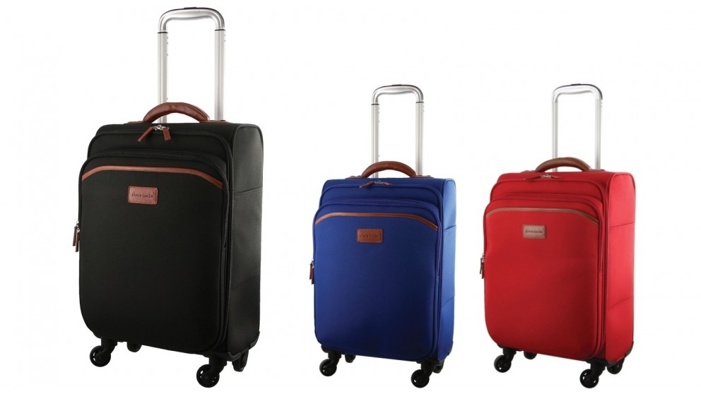 Pierre Cardin 48cm Softshell Cabin Suitcase