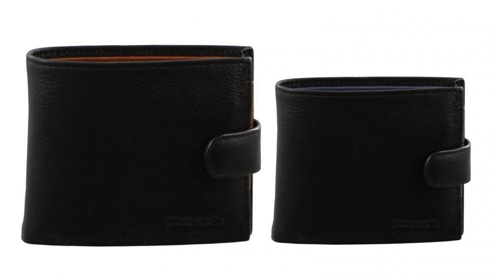 Pierre Cardin Large Italian Leather Mens Wallet
