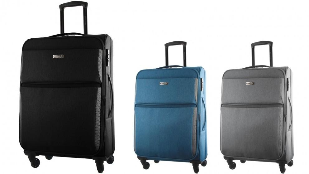Pierre Cardin 60cm 4 Wheel Softshell Suitcase