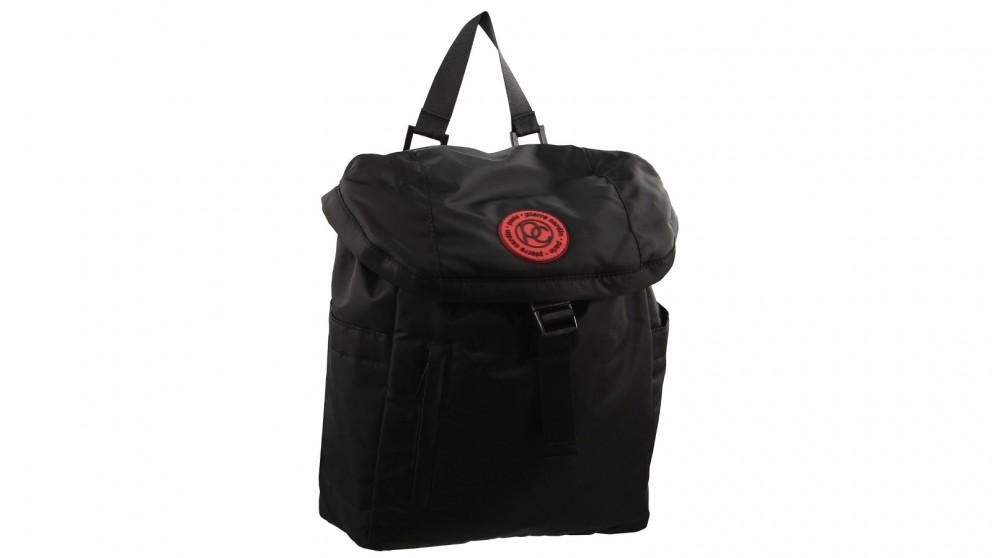 Pierre Cardin Small Urban Nylon Backpack - Black