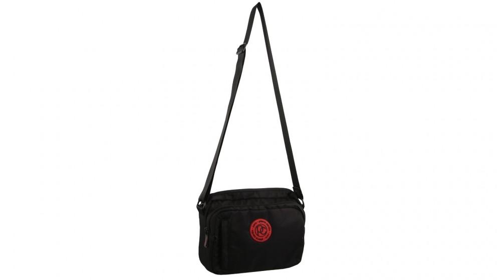 Pierre Cardin Urban Nylon RFID Cross-Body Bag - Black