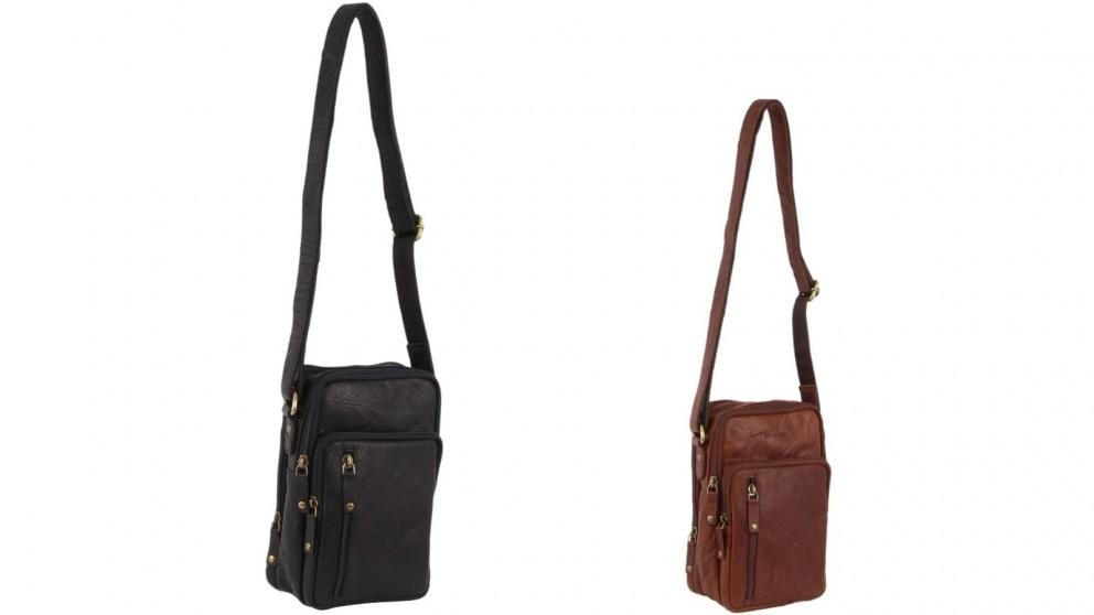 Pierre Cardin Rustic Leather Bag