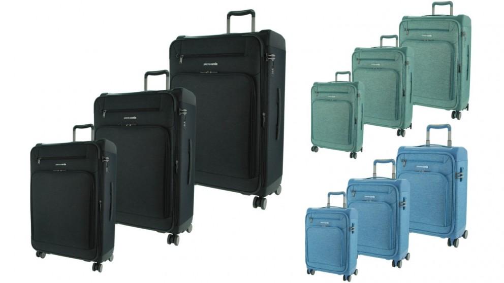 Pierre Cardin Combination Hard/Soft Shell 3 Piece Luggage Set