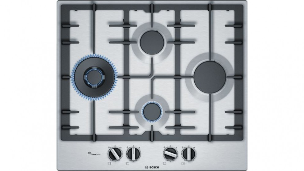 Bosch 600mm Series 6 4 Burner Gas Cooktop