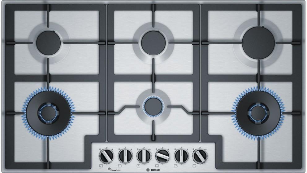 Bosch 900mm Series 6 6 Burner Gas Cooktop